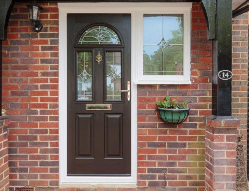 Replacement Composite Front Door in Epsom