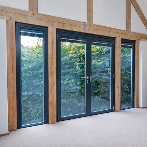 Aluminium windows from Hamilton Windows