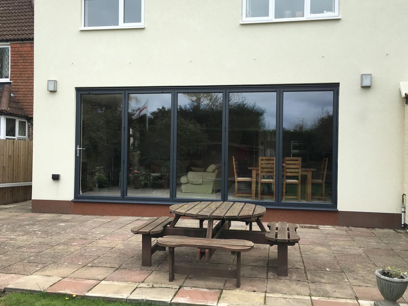 Parkinson 3 - Beautiful Bifolds & Composite Door in Claygate