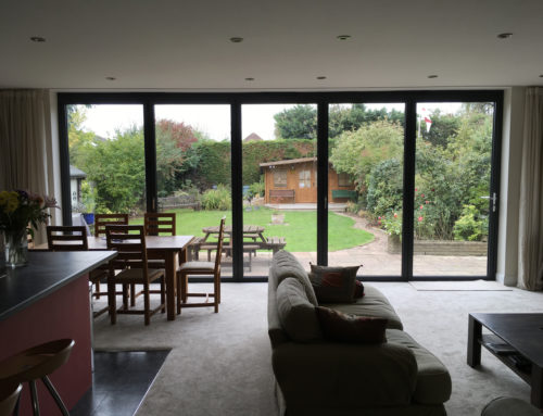 Beautiful Bifolds & Composite Door in Claygate