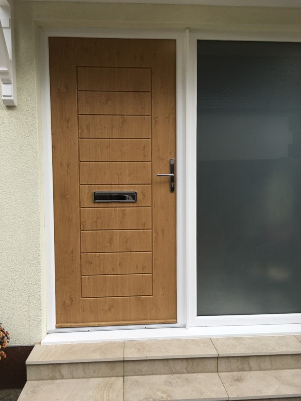 Solidoor installation in Claygate from Hamilton Windows