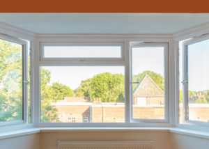 uPVC replacement windows using Kommerling window frames