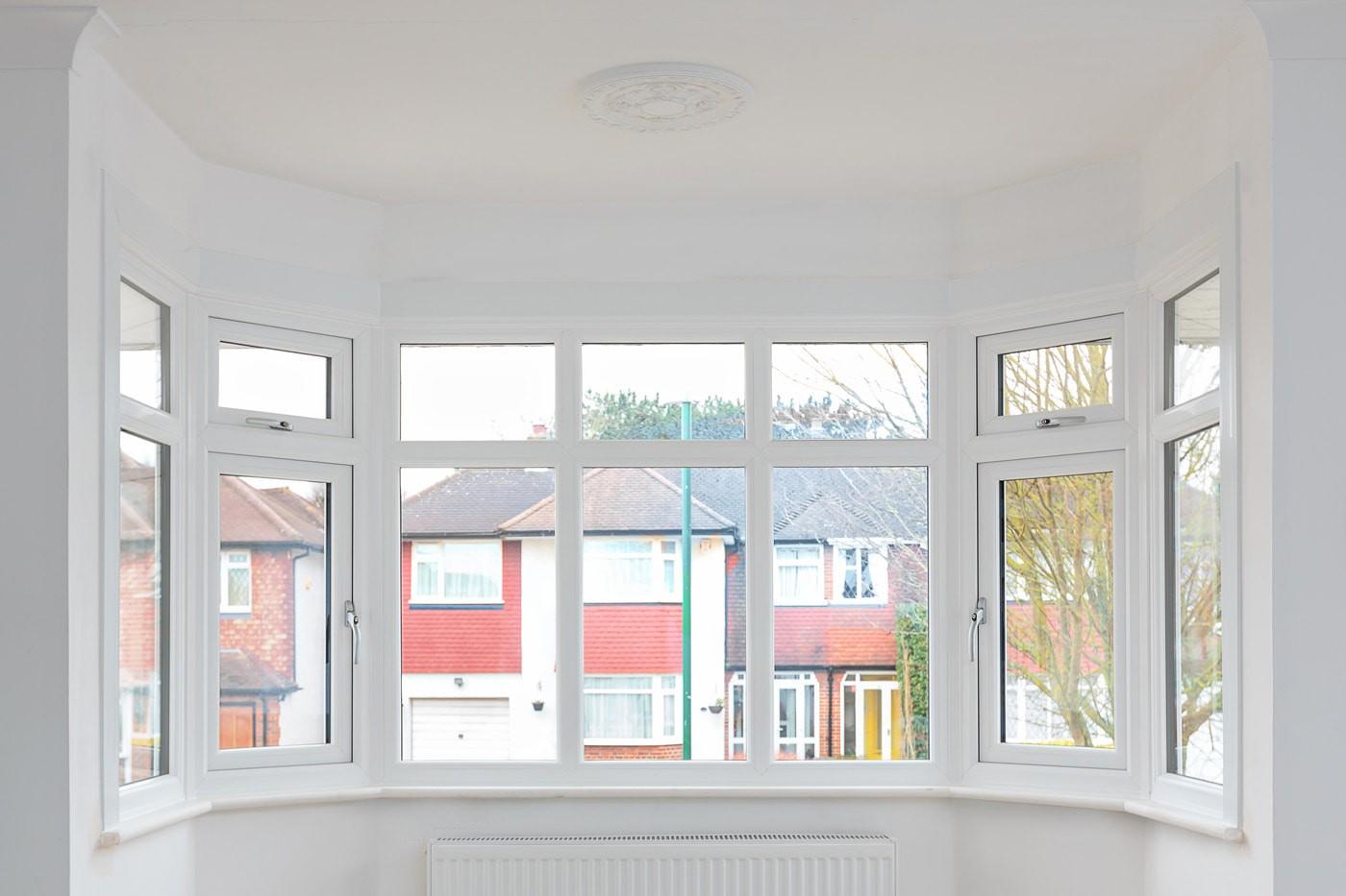 Replacement double glazed uPVC windows in Wallington