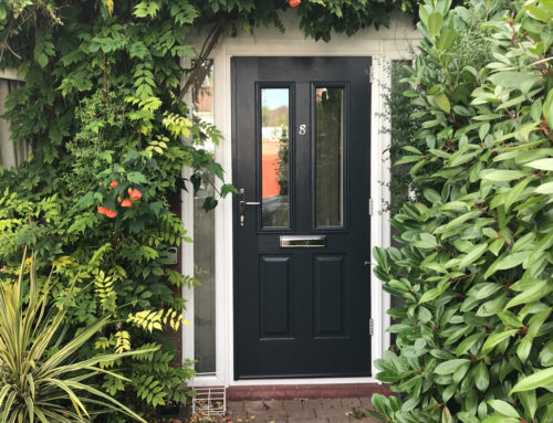 Front Porch with Composite Door in Kingston