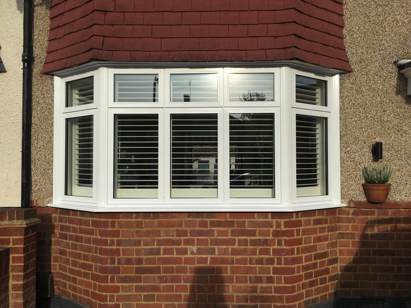 Casement Aluminium windows in Worcester Park from Hamiltons