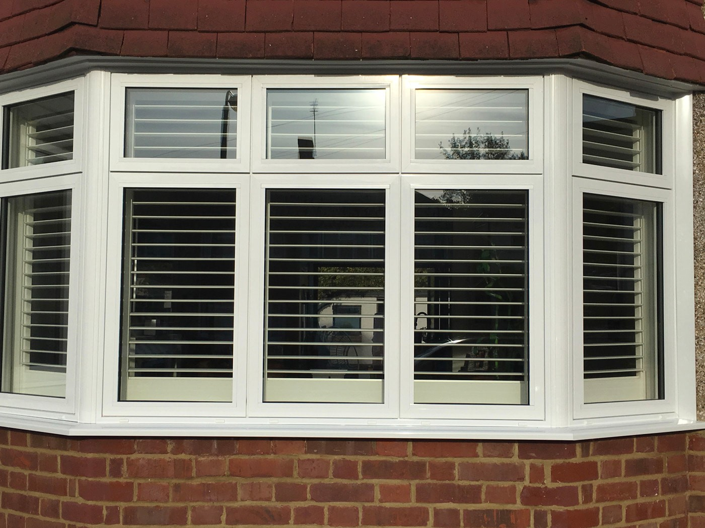 uPVC flush casements windows installed in Worcester Park from Hamiltons