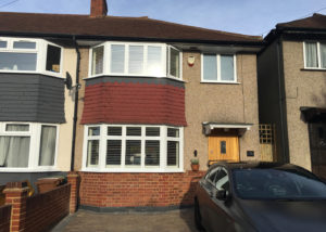 Flush casement aluminium windows: Worcester Park installation | Hamiltons