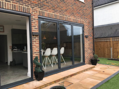 Origin bifolds in Worcester Park