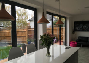 Origin bifolds for homes in Worcester Park - installations from Hamiltons