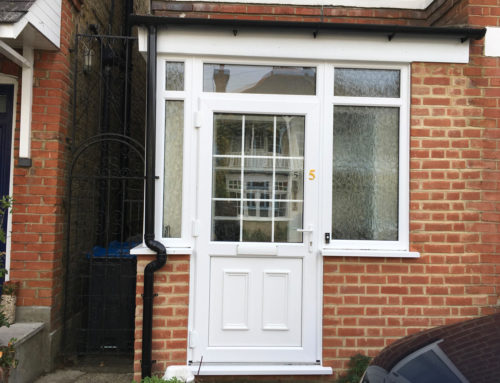 Porch and Kommerling Windows Fitted in Kingston