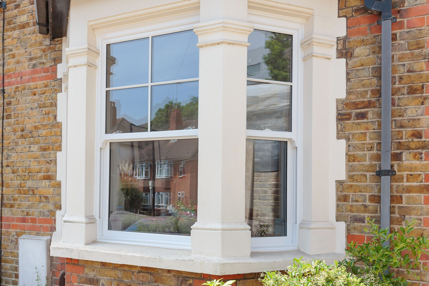 Replacement uPVC sash windows - supply & installation in Kingston