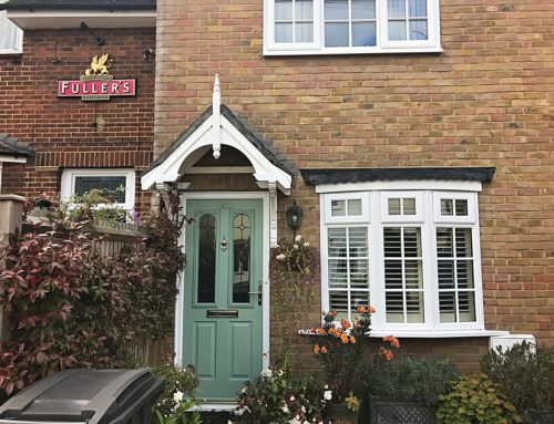 Replacement Windows & Front Composite Door at a Pretty Terraced House in Kingston